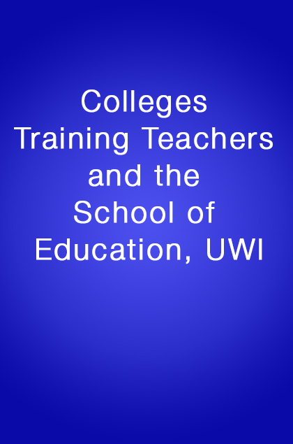Book Cover: Colleges training teachers and the school of Education, UWI