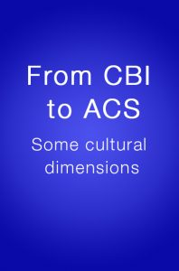 Book Cover: From CBI to ACS