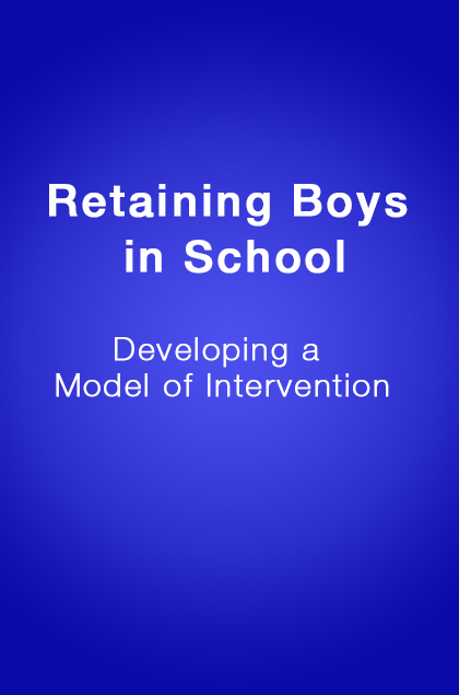 Book Cover: Retaining Boys in School