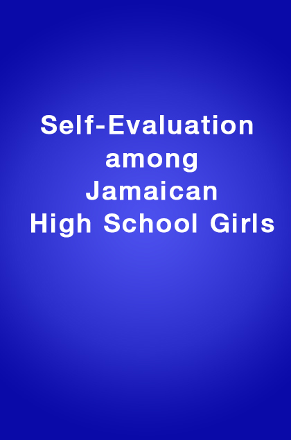 Book Cover: Self-Evaluation among Jamaican High School Girls