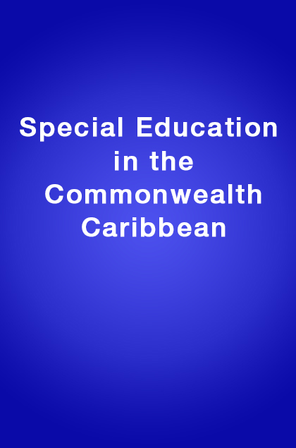 Book Cover: Special Education in the Commonwealth Caribbean