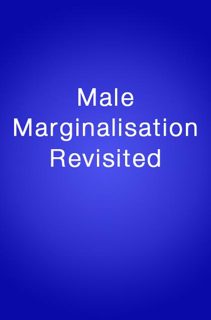 Book Cover: Male Marginalisation Revisited