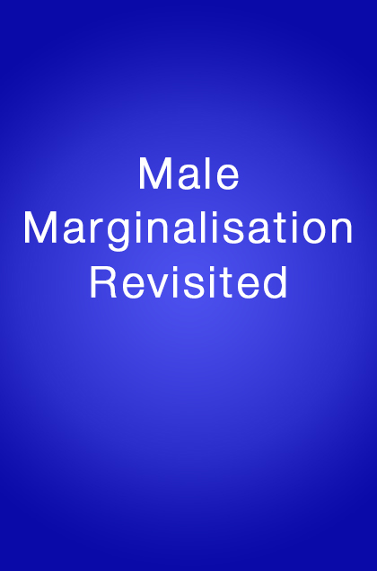Book Cover: Male Marginalisation Revisited