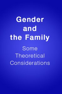 Book Cover: Gender and the Family