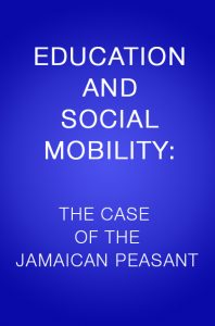 Book Cover: EDUCATION AND SOCIAL MOBILITY